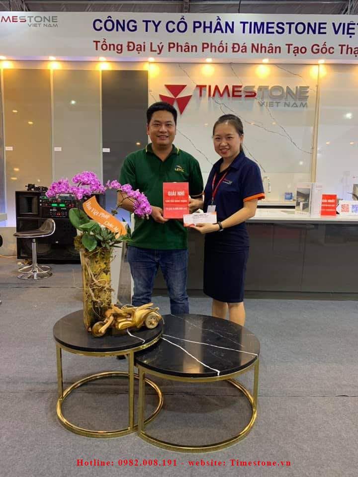 Những hình ảnh đẹp của Timestone Việt Nam tại triển lãm Vietbuild 2019