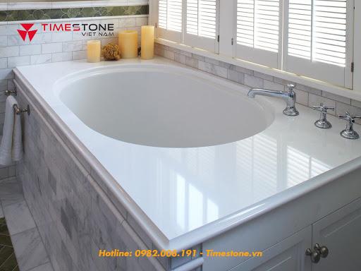 Mách bạn cách vệ sinh phòng bếp và phòng tắm ốp đá nhân tạo nhanh nhất