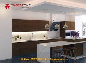 Chiêm ngưỡng không gian bếp hiện đại với chất liệu đá nhân tạo gốc thạch anh