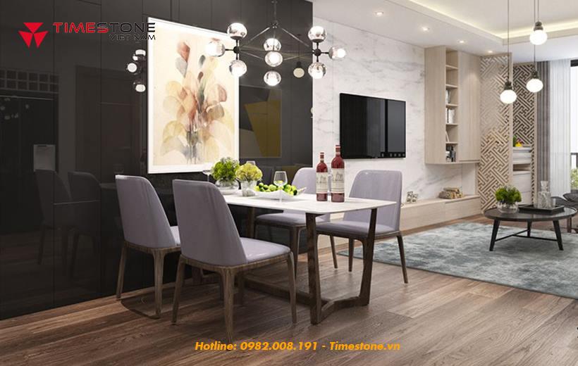 Thiết kế nhà tích hợp khách - bếp và những lưu ý quan trọng
