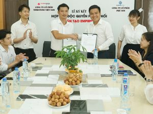 Timestone Việt Nam phân phối độc quyền đá nhân tạo gốc thạch anh Empirestone tại Hà Nội