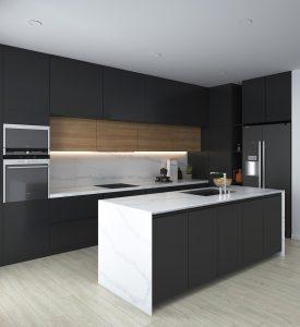 Đá nhân tạo gốc thạch anh - Đón đầu xu hướng thiết kế nội thất 2021