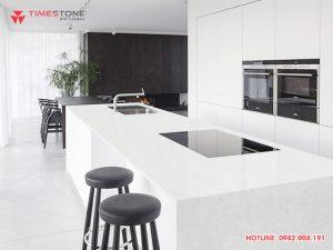 8 ưu điểm vượt trội của đá nhân tạo gốc thạch anh trong thiết kế nội thất