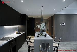 Tạo không gian bếp hiện đại với quầy bar mini