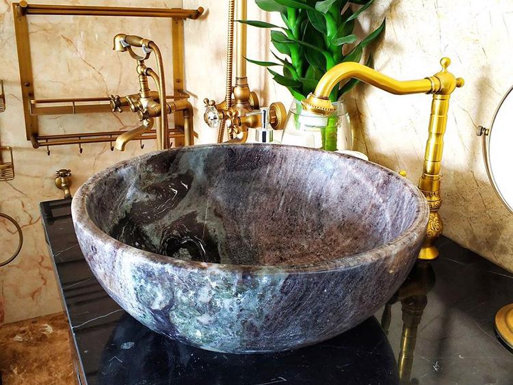 Bàn đá lavabo đẹp: Những mẫu bàn đá lavabo đẹp nhất cho phòng tắm