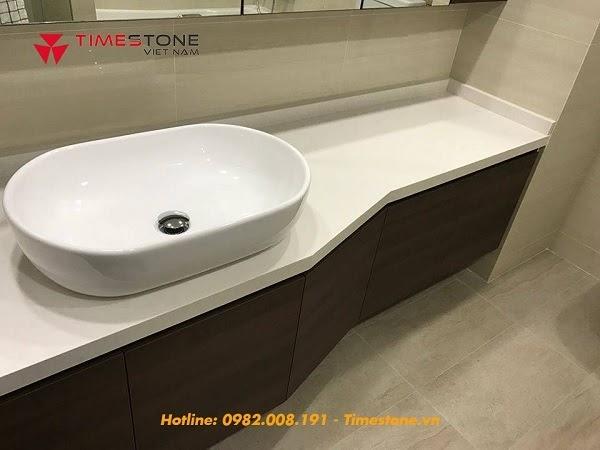 Quy trình thi công bàn đá lavabo đúng chuẩn